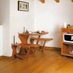 cute and unique modern kitchen tables for small spaces