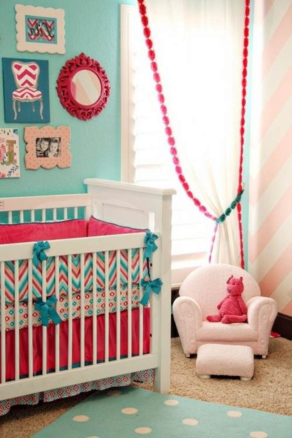 20 cute baby girl bedding ideas for your little angel for Baby girls bedroom designs