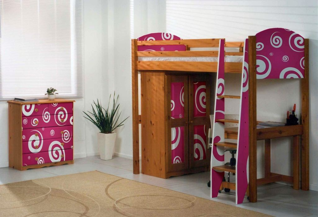 cute funky bunk beds for limited space
