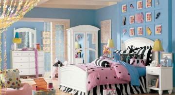 cute girls bedroom ideas in blue