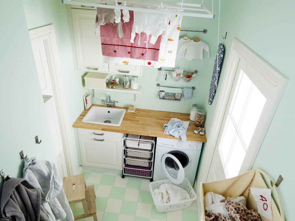 Cute small laundry room storage solutions Storage solutions for small laundry rooms