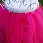 cute vanity chair with skirt in pink ruffles