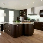 dark wood and grey shades popular paint colors for kitchen