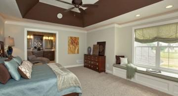 deep tray ceiling bedroom