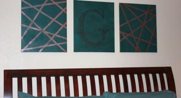 diy bedroom art