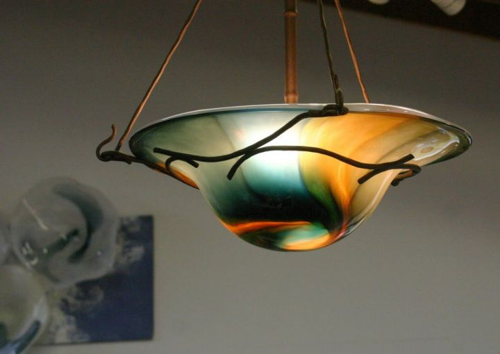 diy pendant lighting with old cover