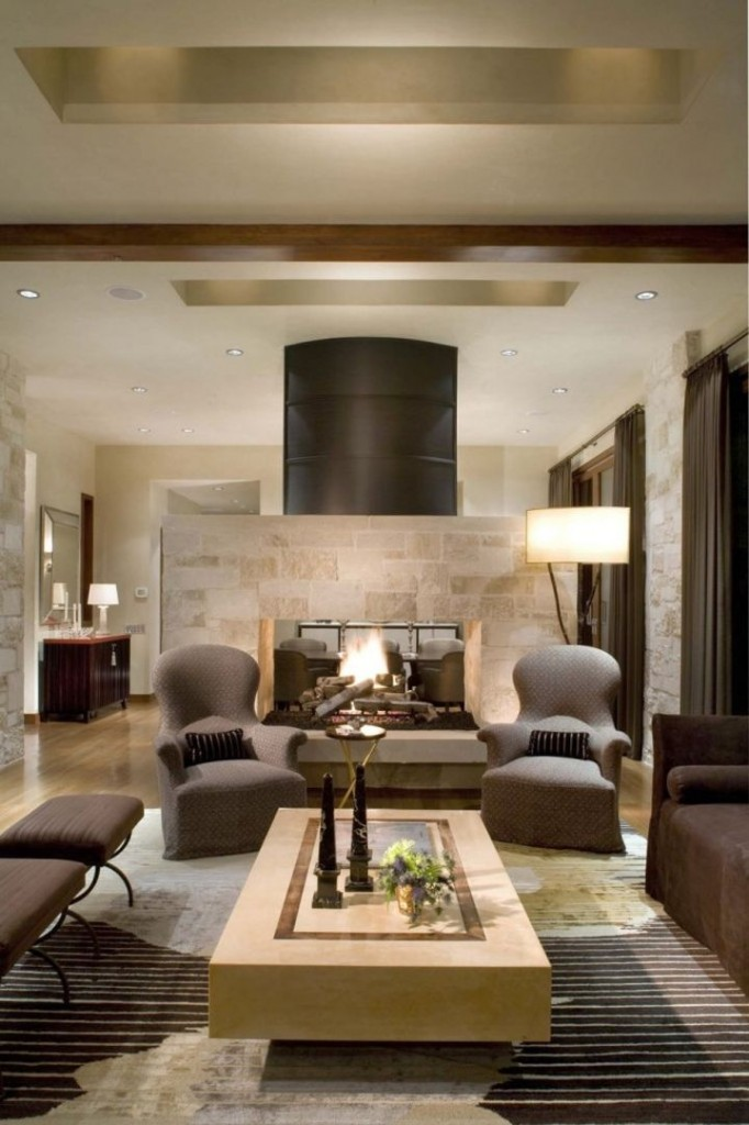 20 relaxing earth tone living room designs for Earthy living room designs