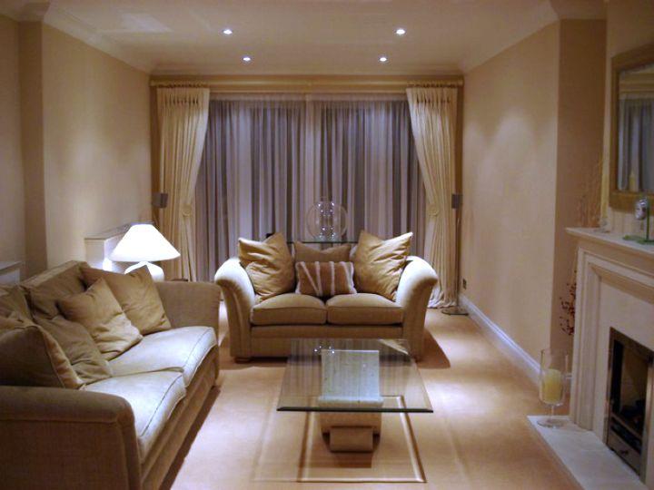 Warm Tones Living Room Ideas
