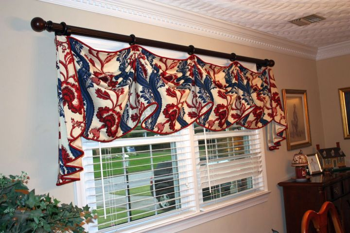 easy DIY swag valance patterns