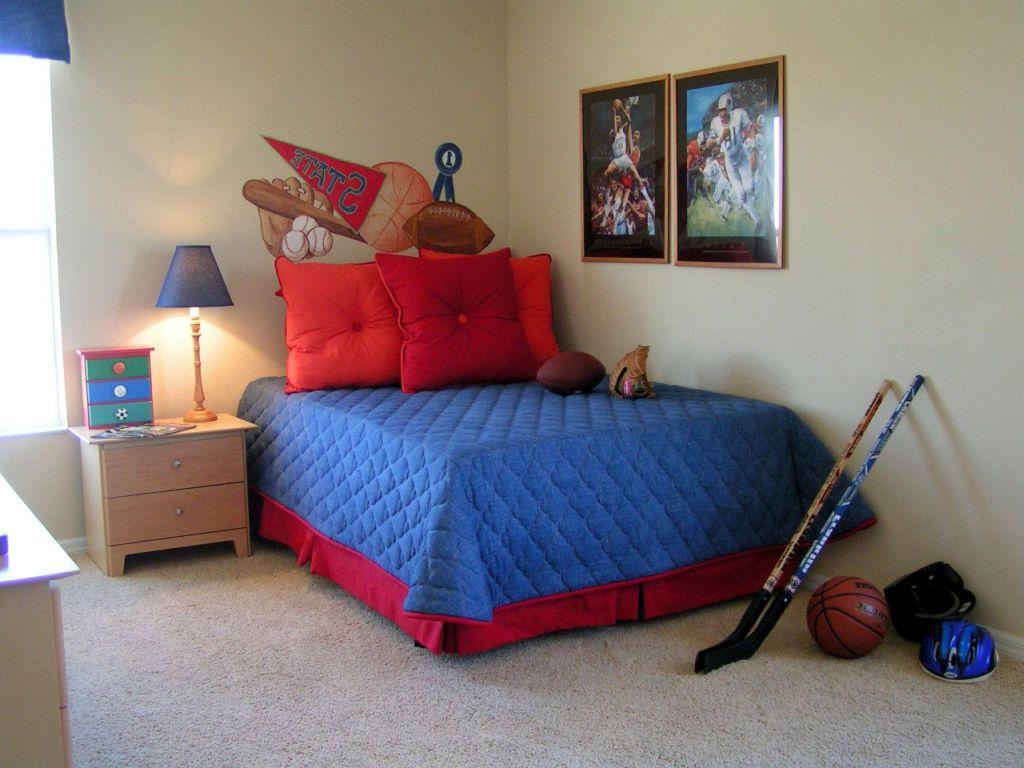 Boys hockey bedroom ideas - Hockey