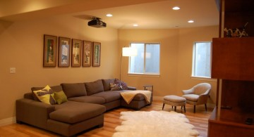 easy and on budget lighting ideas for basement