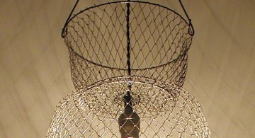 easy mesh making a pendant light