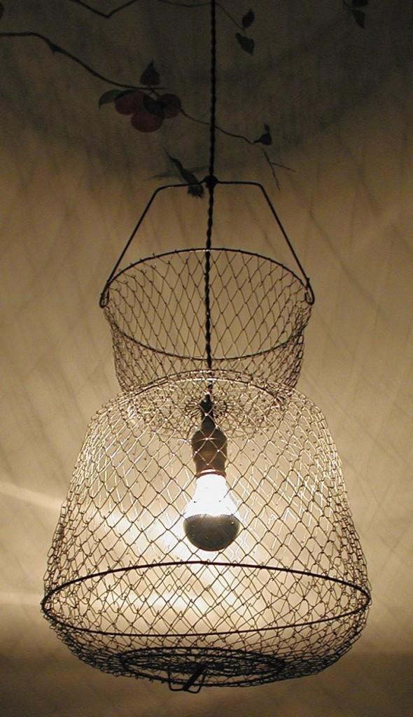 easy mesh making a pendant light