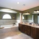 elegant and spacious Bathroom vanity lighting ideas