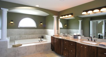 elegant and spacious Bathroom vanity lighting ideas