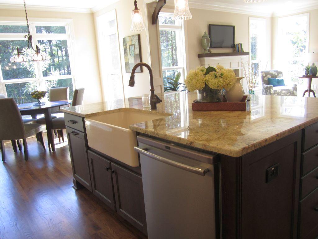 20 elegant designs of kitchen island with sink - Kitchen island ideas with sink ...