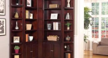 elegant shelf corner shelf designs