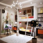 fantasy mural kids rooms paint ideas