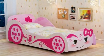 feminine car unique beds for girls