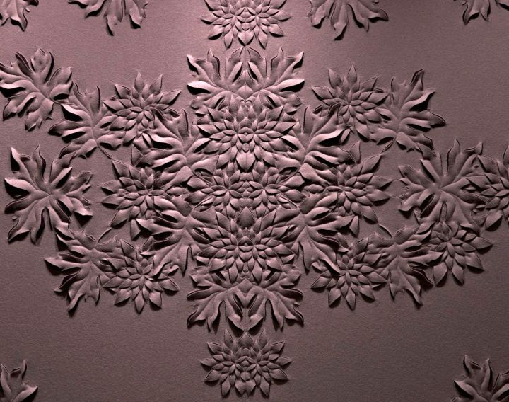 flower bouquet interior textured wall designs