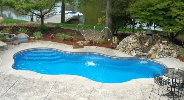 free formed small pool