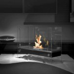freestanding fireplaces designs for contemporary bedrooms