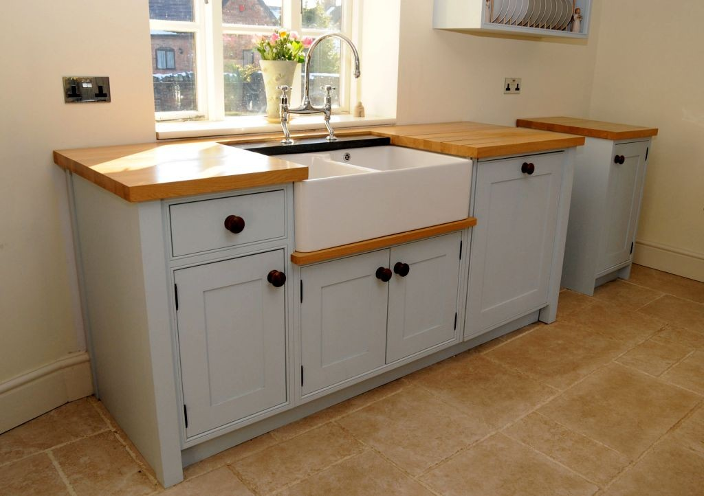 Modern Free Standing Kitchen Sinks ... & Lovely Best Kitchen Cabinet With Free Standing Kitchen Sinks Moody ...