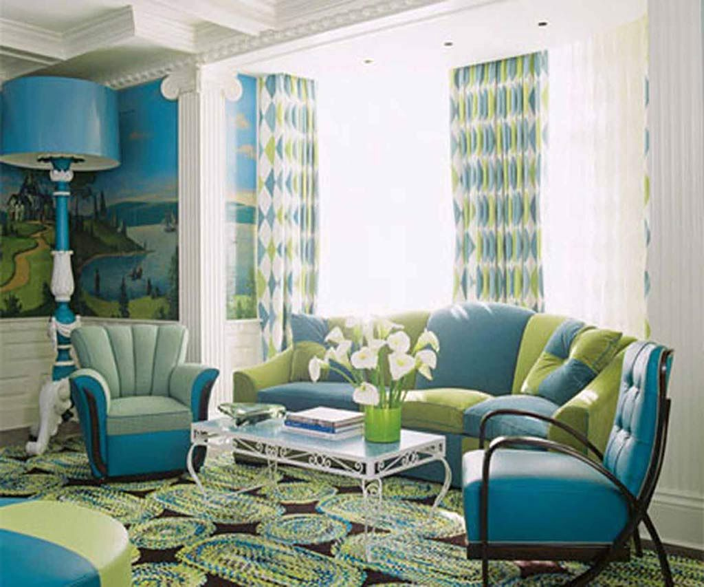 19 Hot Retro Living Room Ideas
