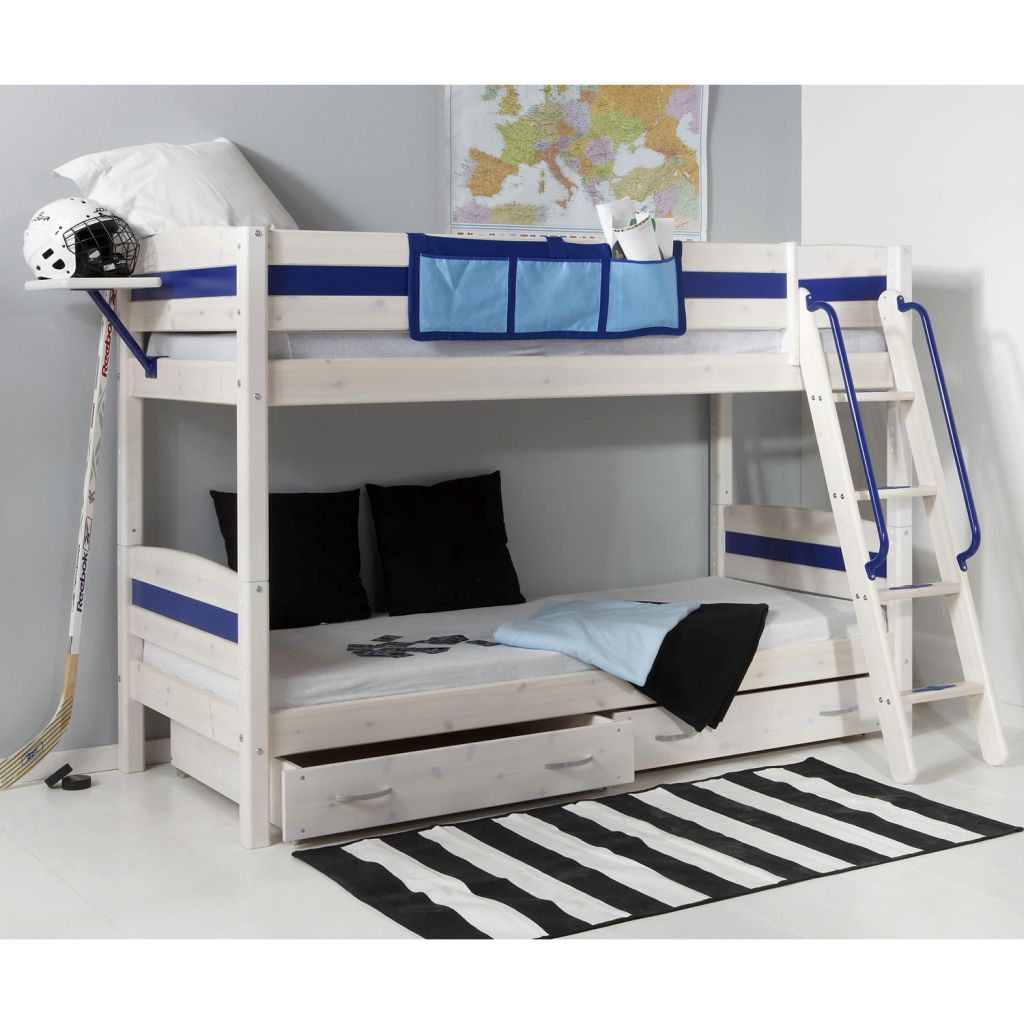 Funky Bunk Beds In Minimalistic Design For Boys