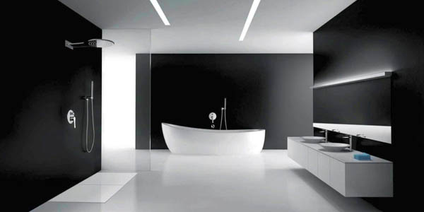 Exceptional Gallery For Modern Black Bathrooms Ideas