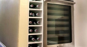 futuristic contemporary wine cabinet