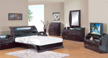 futuristic curved bed designs with matching bedroom furnitures