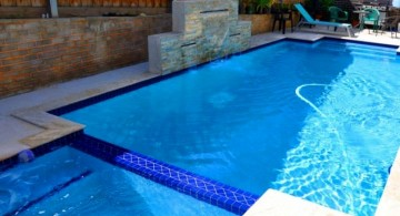 geometric with linked jacuzzi pool with spa designs