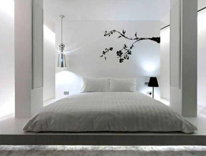 18 Easy Zen Bedroom Ideas To Implement: modern minimalist master bedroom