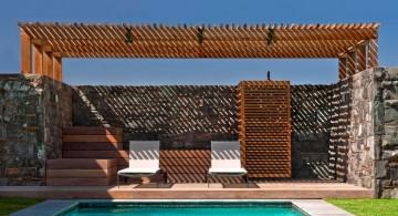 great outdoor modern deck design