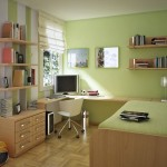 green space saving teenage rooms ideas