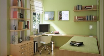 green space saving teenage rooms ideas