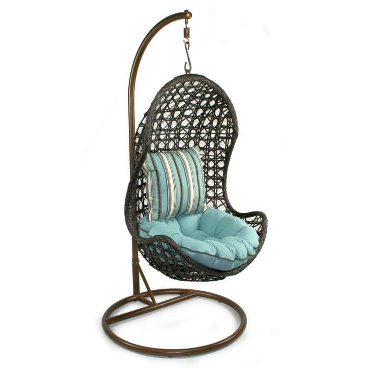 Cool Hanging Chairs Look Porch Chair With Stand By Chans Patio ...