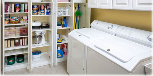 Gallery For Small Laundry Room Storage Solutions