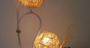 handmade lamp diy bedroom art