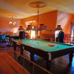 hang out room ideas with billiard table