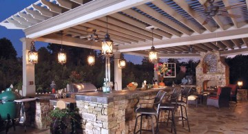 hanging pendant lights ideas and inspiration for outdoor dining room