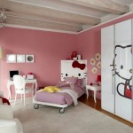 hello kity girls bedroom designs