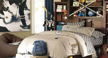 hockey bedrooms