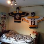hockey bedrooms idea for dorm rooms