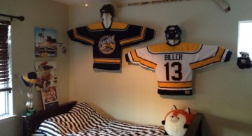 hockey bedrooms idea for dorm rooms