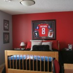 hockey bedrooms idea for small space