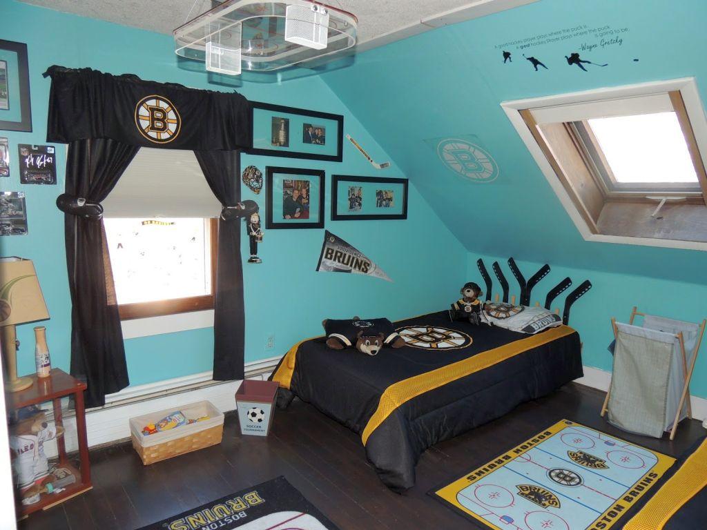 Gallery for Hockey Bedroom Design Ideas. 18 Unique Hockey Bedroom Design Ideas for Teenage Guys