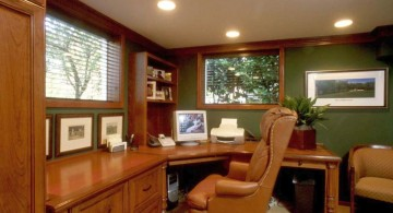 home office design ideas for small spaces with large chair