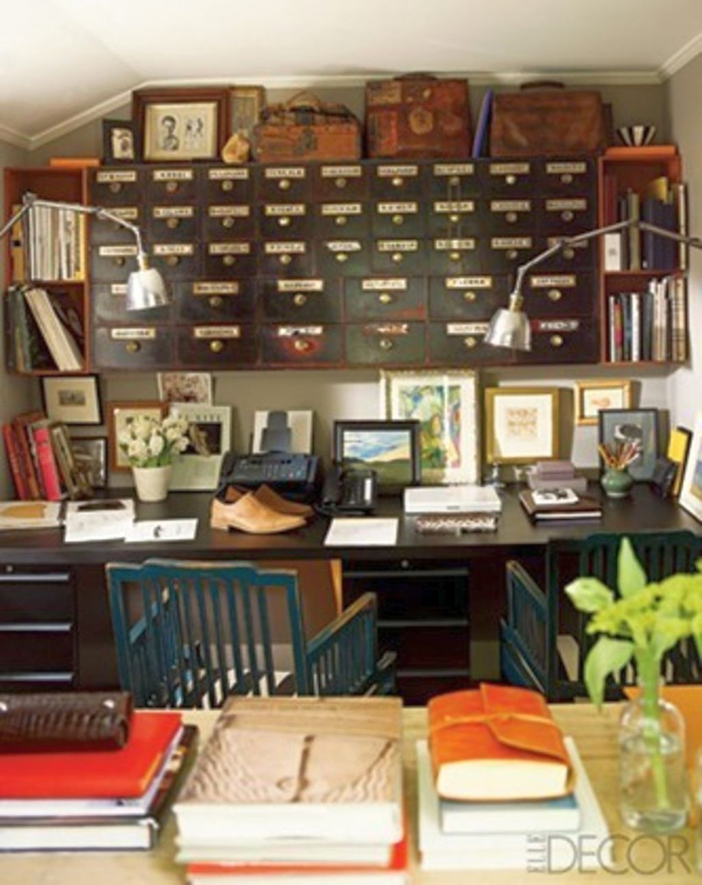 20 inspiring home office design ideas for small spaces - Small work space decor ...
